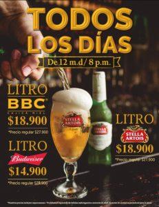 porthos-steakhouse-pub-santa-marta-oferta-cervezas